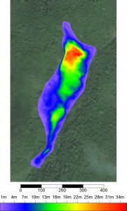 UltraGPR Mapping of Jamaican Bauxite Pits