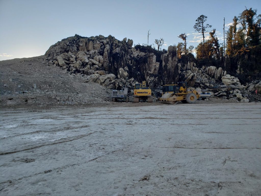 On-going well pad surveys in Papua New Guinea - Groundradar